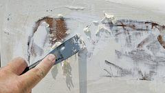 Как снять водоэмульсионную краску