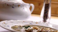 Как приготовить грибной суп из сушеных грибов