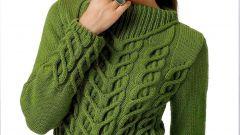 Как связать женский пуловер