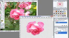 Как сделать фон на фото прозрачным