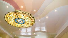 Как сделать уровневый потолок из гипсокартона