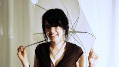 Как сушить зонт