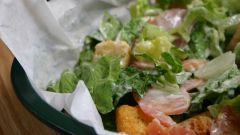 Как приготовить теплый салат