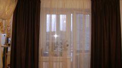 Как сшить шторы на арку