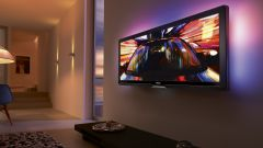 How to decorate a wall with TV