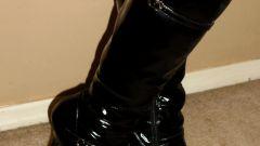 Как отчистить обувь от соли