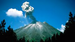 Как сделать модель вулкана