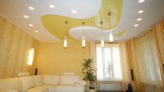 Как устанавливать навесные потолки