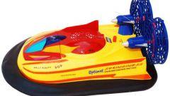 Как сделать лодку на воздушной подушке