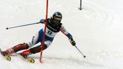 Как спускаться на лыжах