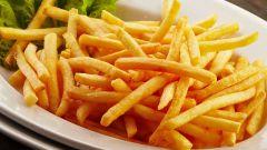 Как жарить картофель фри