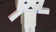 Как сделать робота из картона