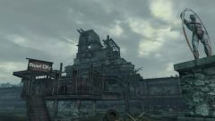 How to get into rivet city in Fallout 3