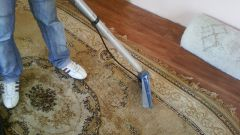 How to wash the carpets with a wet vacuum