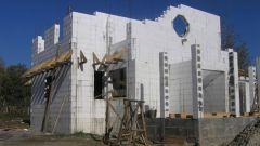 Как построить дом из пенопласта