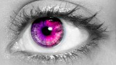 Как заменить цвет глаз
