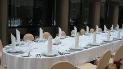 Как накрывать стол на свадьбу