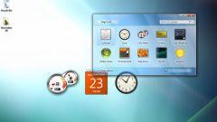 Как включить гаджеты Windows 7