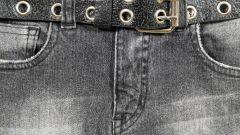 Как вернуть джинсам черный цвет