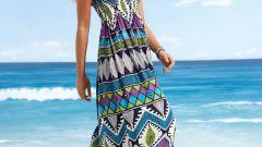 Как сшить пляжное платье быстро