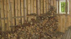 Как построить дровяник