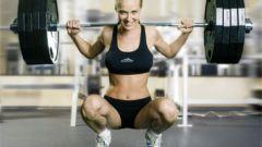 Как качать мышцы девушке