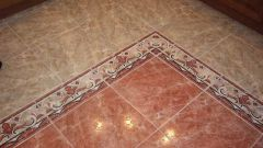 Как класть кафельную плитку на пол