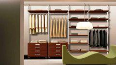 Как построить гардеробную