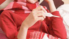Как сбить температуру при простуде