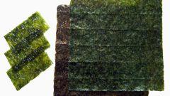 Как приготовить водоросли для суши