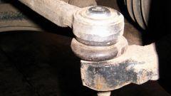 Как снять рулевой наконечник