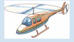 Как сделать бумажный вертолет