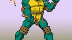 Как научиться рисовать черепашек-ниндзя