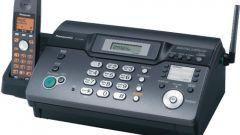 Как поставить факс на автомат