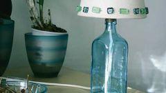 Как сделать дырку в стеклянной бутылке
