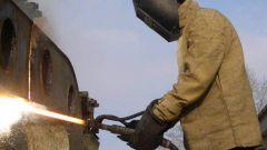 Как резать газом