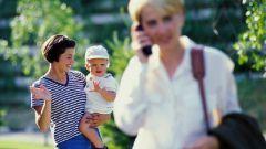 Как приучить ребёнка к няне