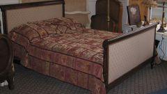 Как и чем обивают кровати