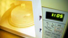 Как отмыть микроволновую печь