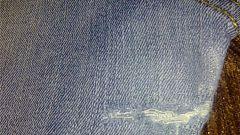 Как заштопать дырку на джинсах