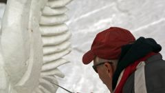 Как сделать снежную скульптуру