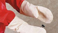Как сшить рабочие рукавицы