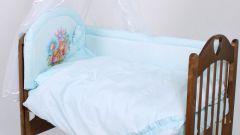 Как сшить борта в кроватку