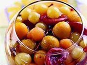 Как замариновать виноград