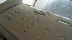Как принимать факс с факса