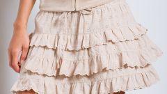 Как сшить многослойную юбку