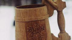 Как сделать деревянную кружку
