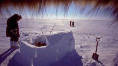 Как построить снежный дом