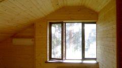 Как вставить окно в деревянный дом