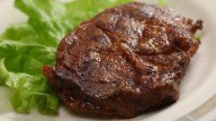 Как пожарить кусочек мяса